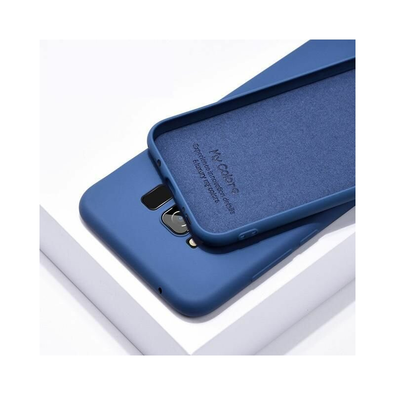 Husa iPhone 8 Tech-Protect Icon/Smooth - Albastru