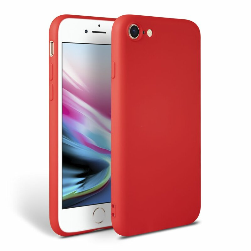 Husa iPhone 7 Tech-Protect Icon/Smooth - Rosu