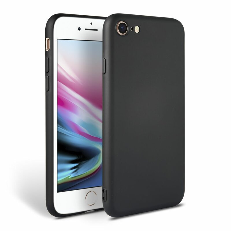 Husa iPhone 7 Tech-Protect Icon/Smooth - Negru