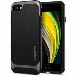 Husa iPhone 7 Spigen Neo Hybrid - Gunmetal