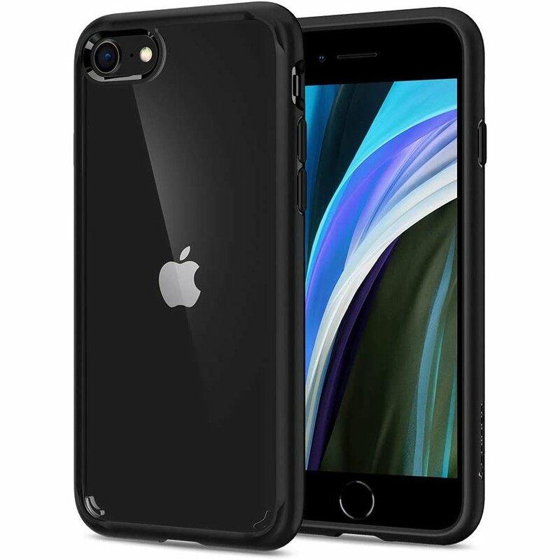 Husa iPhone 8 Spigen Ultra Hybrid - Black