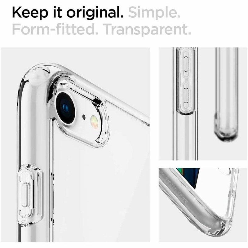 Husa iPhone 7 Spigen Ultra Hybrid - Crystal Clear