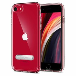 Husa iPhone 7 Spigen Ultra Hybrid Cu Suport De Tip Kickstand - Crystal Clear