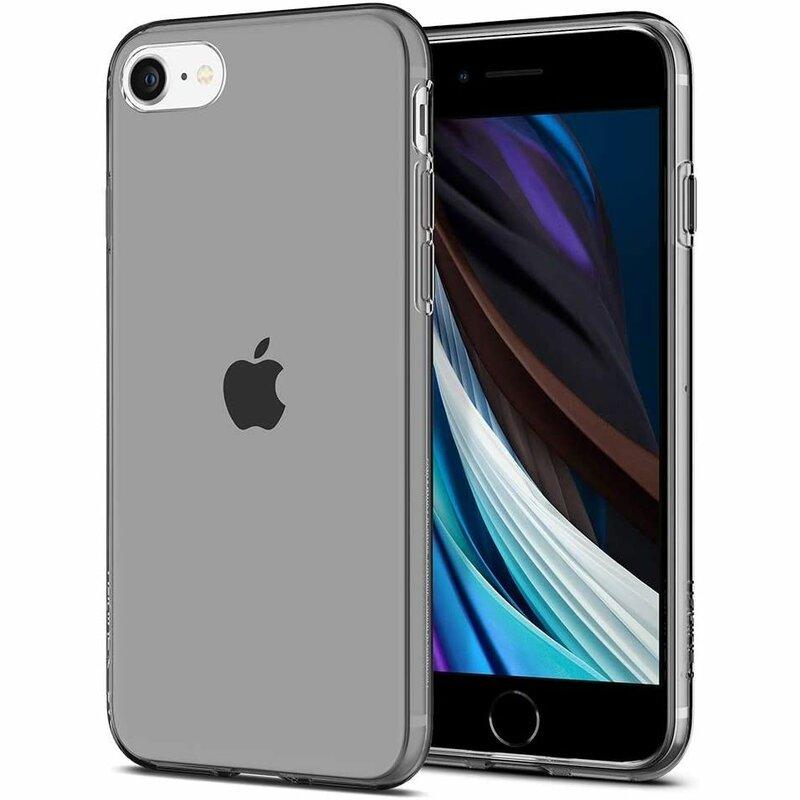 Husa iPhone SE 2, SE 2020 Spigen Liquid Crystal - Space Crystal
