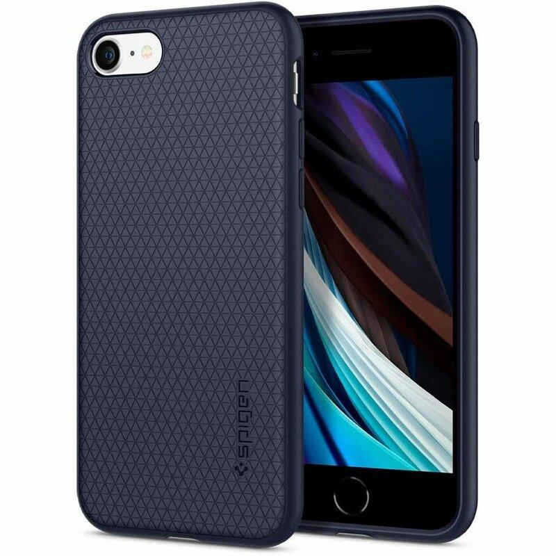 Husa iPhone 7 Spigen Liquid Air - Midnight Blue