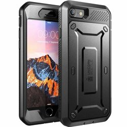 Husa iPhone SE 2, SE 2020 Supcase Unicorn Beetle Pro - Negru