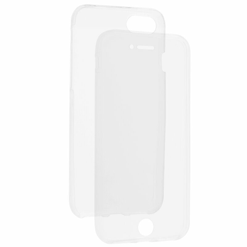 Husa iPhone SE 2, SE 2020 TPU UltraSlim 360 Transparent