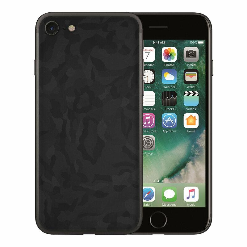 Skin iPhone SE 2, SE 2020 - Sticker Mobster Autoadeziv Pentru Spate - Camo