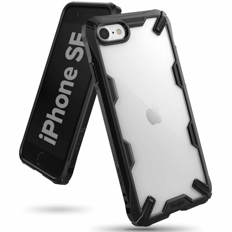 Husa iPhone 7 Ringke Fusion X - Black