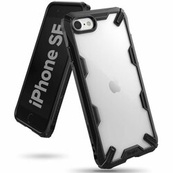 Husa iPhone SE 2, SE 2020 Ringke Fusion X - Black