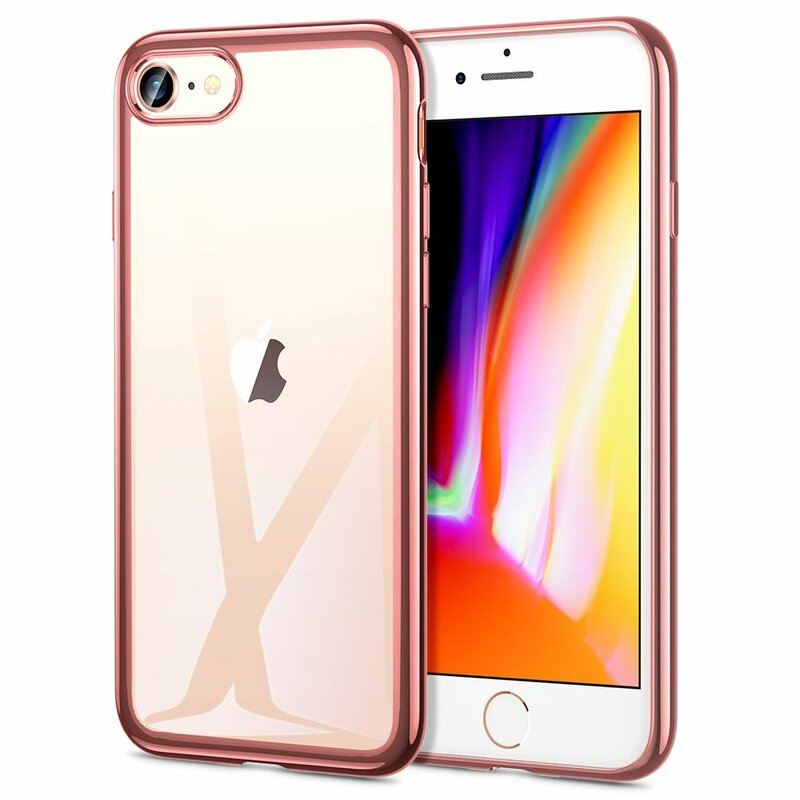 Husa iPhone 7 ESR Essential Crown - Rose Gold