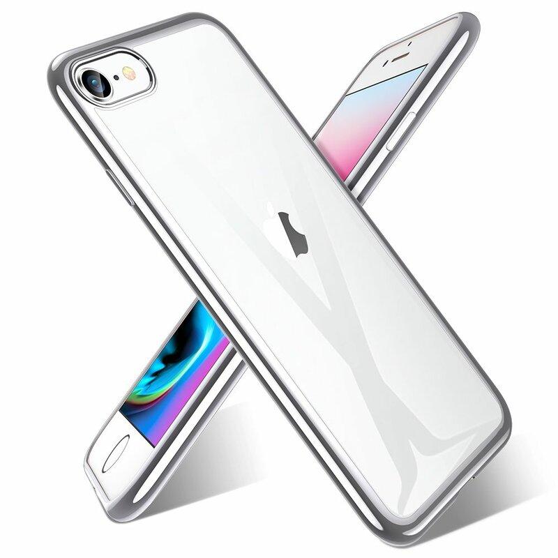 Husa iPhone SE 2, SE 2020 ESR Essential Crown - Silver