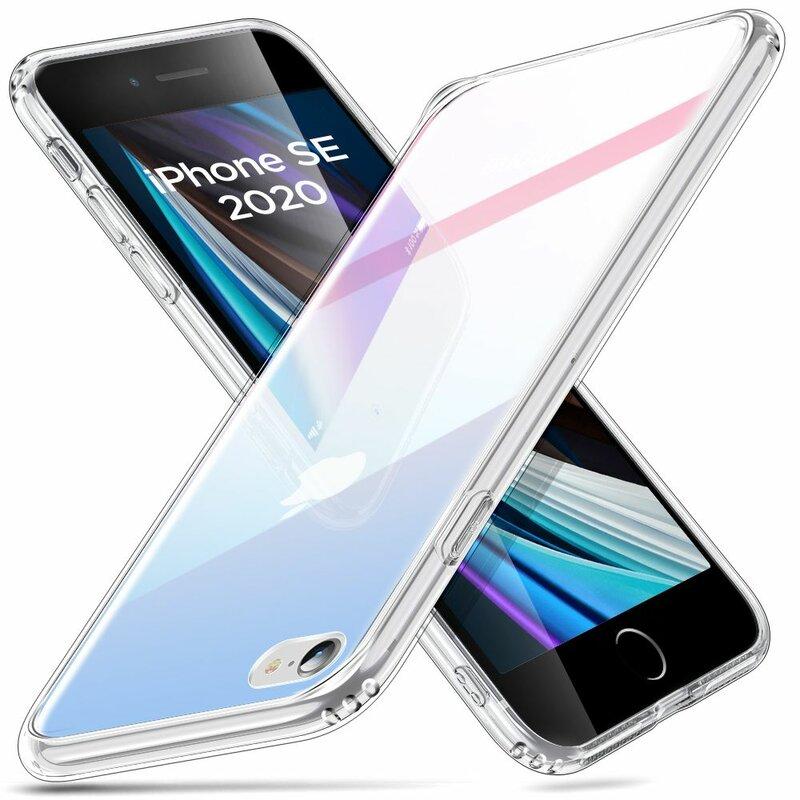 Husa iPhone SE 2, SE 2020 ESR Ice Shield - Red/Blue