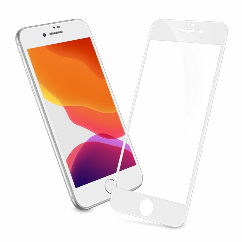 Folie Sticla iPhone 7 ESR Screen Shield 3D Edge Guard - White