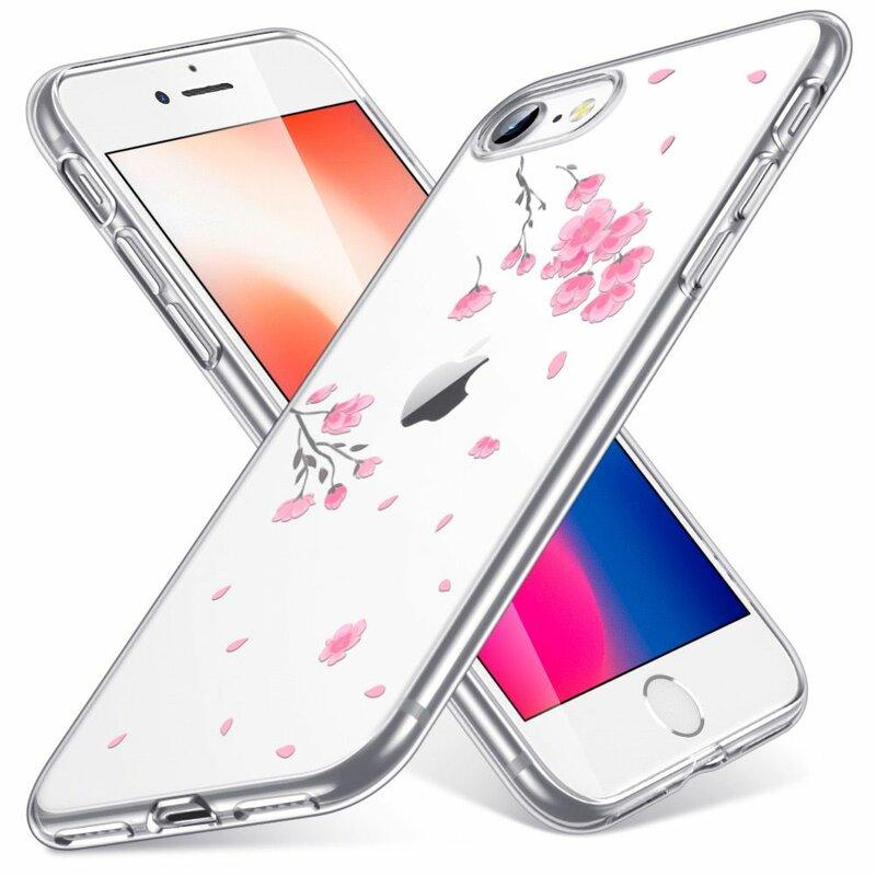 Husa iPhone SE 2, SE 2020 ESR Mania - Cherry Blossom