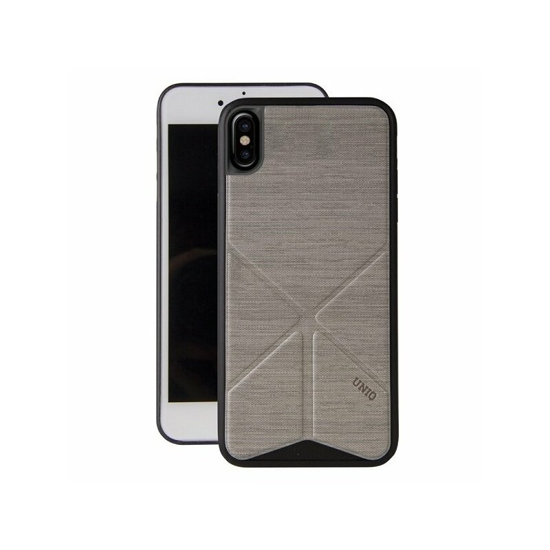 Husa iPhone XS Uniq Transforma - Grey