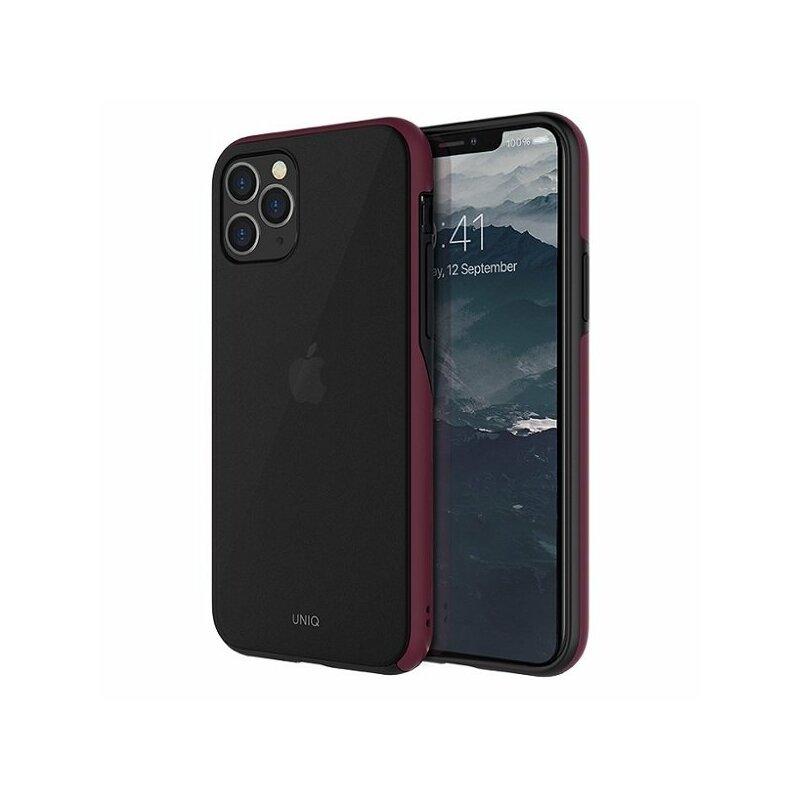 Husa iPhone 11 Pro Max Uniq Vesto Hue - Burgundy