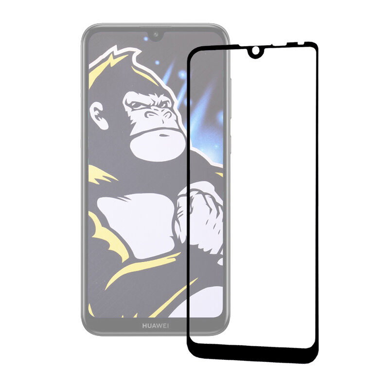 Folie Huawei Y7 2019 Blueo Type Gorilla Glass Anti-Explode - Negru