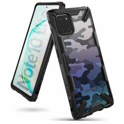 Husa Samsung Galaxy Note 10 Lite Ringke Fusion X Design - Camo Black