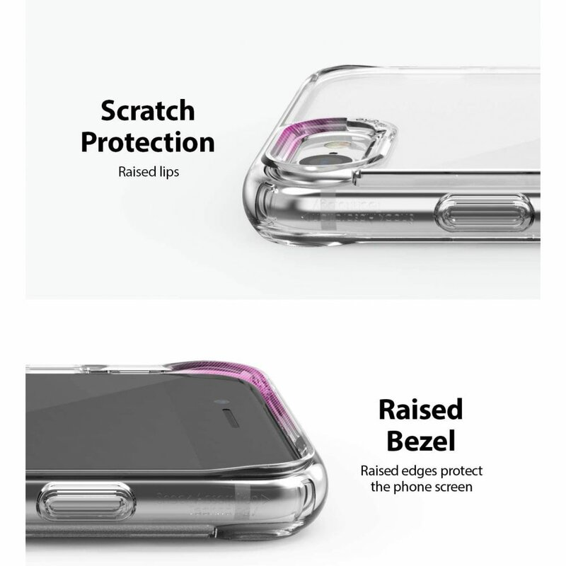 Husa iPhone 7 Ringke Fusion - Clear