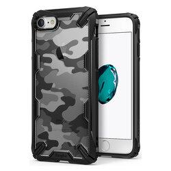 Husa iPhone 7 Ringke Fusion X Design - Camo Black