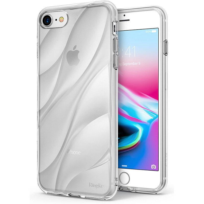 Husa iPhone 8 Ringke Flow - Clear