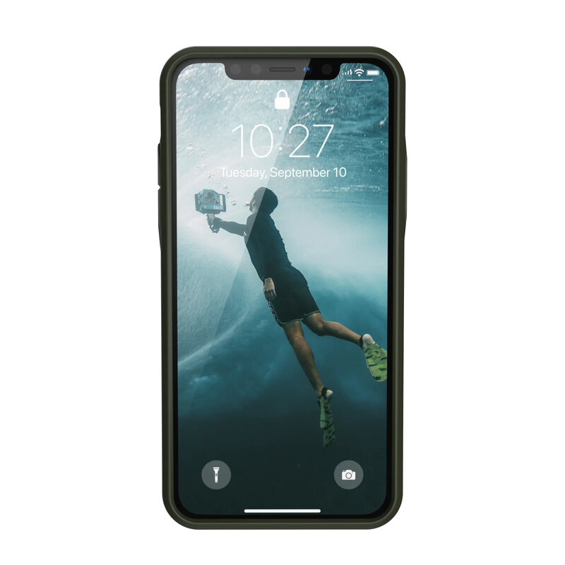 Husa iPhone 11 Pro Max UAG Outback Biodegradable - Olive