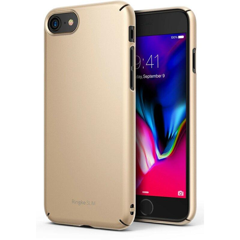Husa iPhone 7 Ringke Slim - Royal Gold