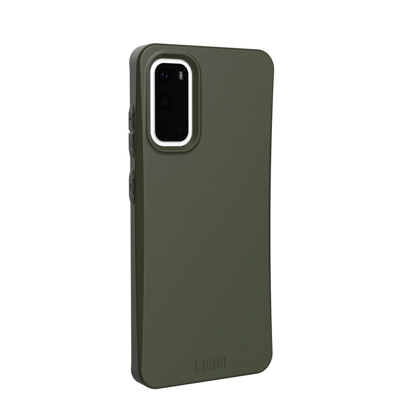 Husa Samsung Galaxy S20 5G UAG Outback Biodegradable - Olive