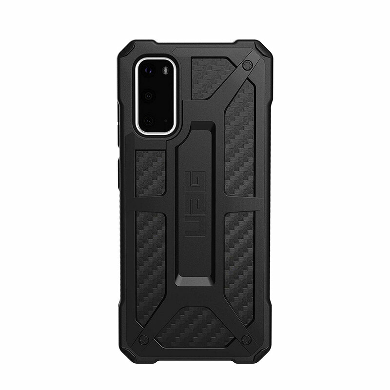 Husa Samsung Galaxy S20 5G UAG Monarch Series - Carbon Fiber