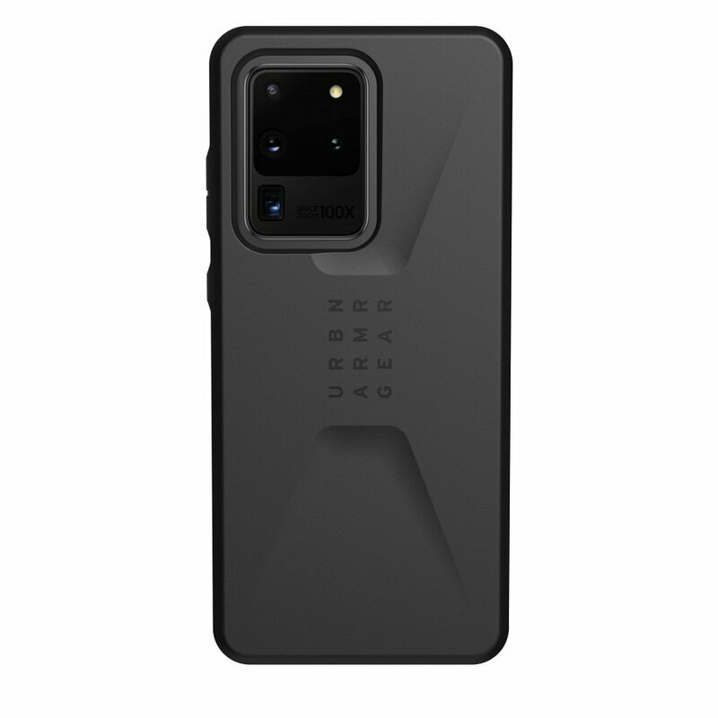 Husa Samsung Galaxy S20 Ultra 5G UAG Civilian Series - Black