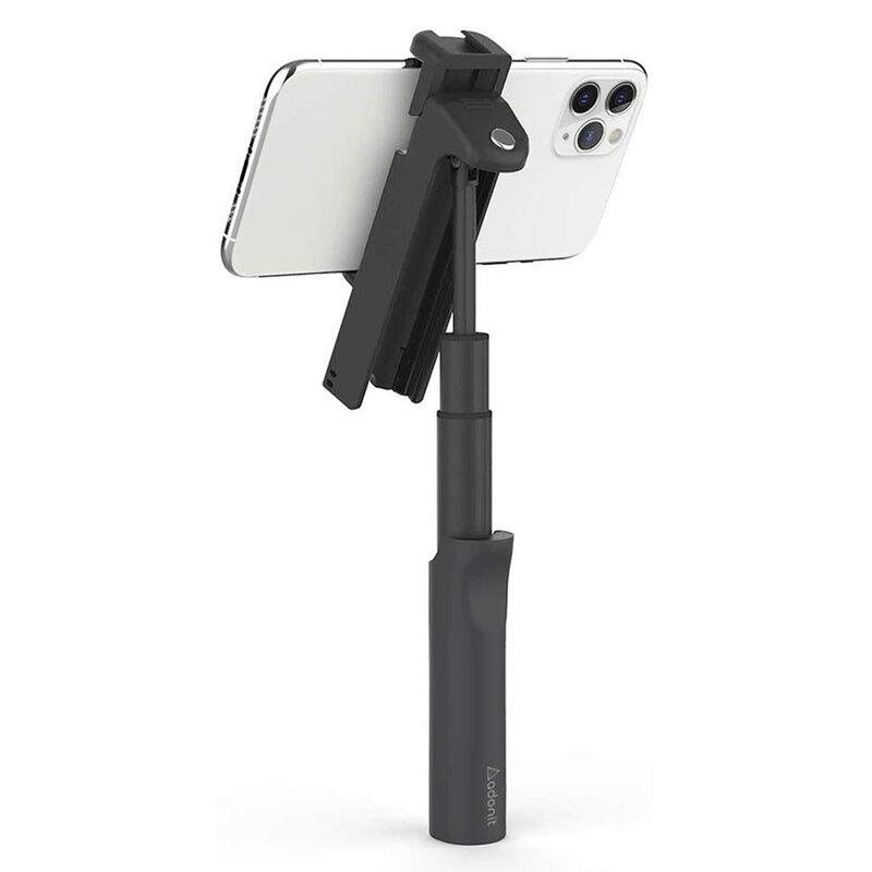 Suport Selfie Stick Adonit V-Grip Trepied Bluetooth Shutter Remote - Black