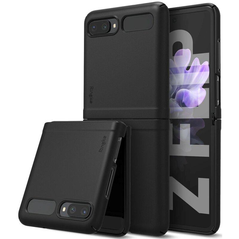 Husa Samsung Galaxy Z Flip Ringke Slim - Black