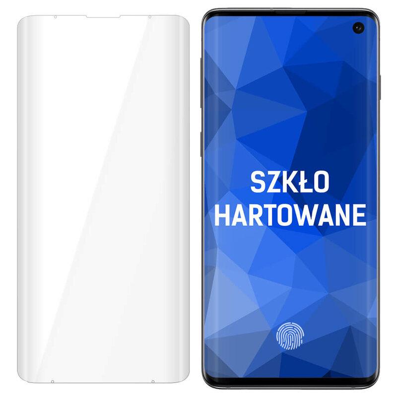 Folie Sticla Samsung Galaxy S10 3MK UV Glass - Clear