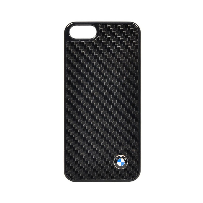 Bumper iPhone SE, 5, 5s BMW Carbon - Negru bmhcp5mbc