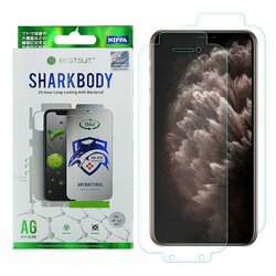 Folie iPhone 11 Pro Max Bestsuit Sharkbody Antibacterial Full Body 360° Self-Repair Film - Clear