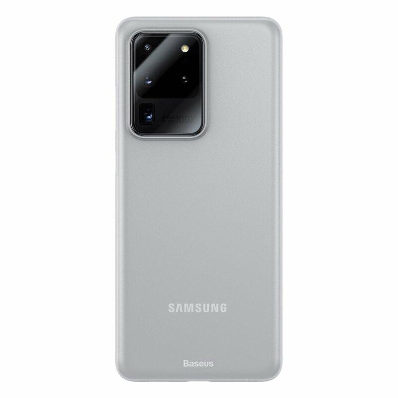 Husa Samsung Galaxy S20 Ultra 5G Baseus Wing Protective Case - WISAS20U-02 - Alb
