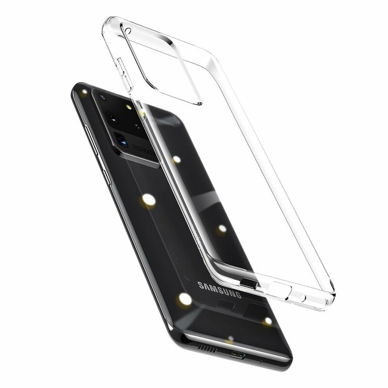Husa Samsung Galaxy S20 Ultra 5G Baseus Simple Series Case - ARSAS20U-02 - Clear