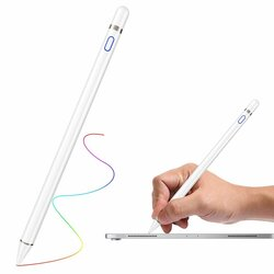 Stylus Pen Cartinoe Capacitance Bluetooth Cu Cablu de Incarcare - Alb