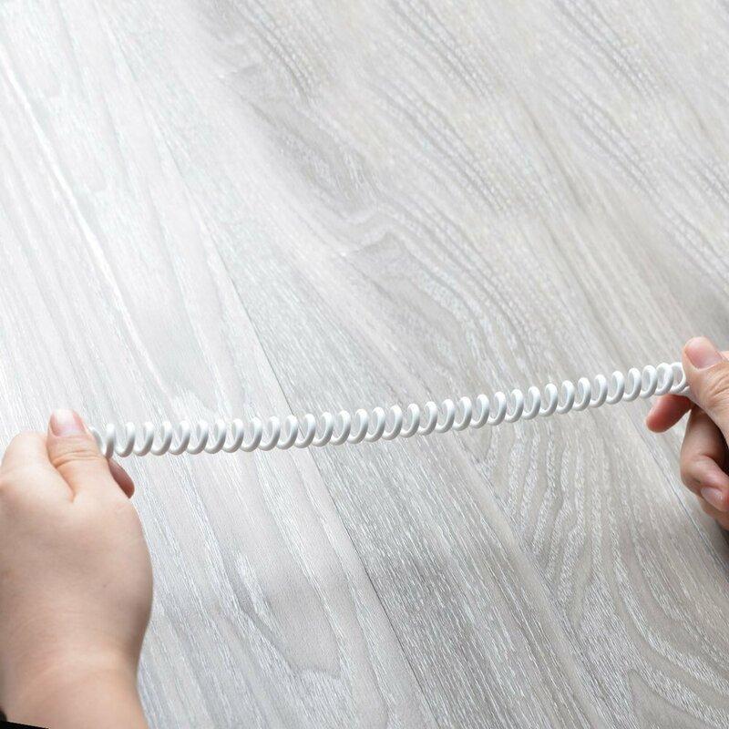 Cablu Audio Dudao L12 Long Extensible Aux Mini Jack 3.5mm 1.5m - Alb