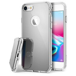 Husa iPhone 8 Ringke Mirror - Silver
