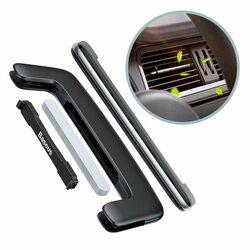 Odorizant Auto Baseus Paddle Ultrathin Air Vent Fragrance - SUXUN-BP0S - Silver