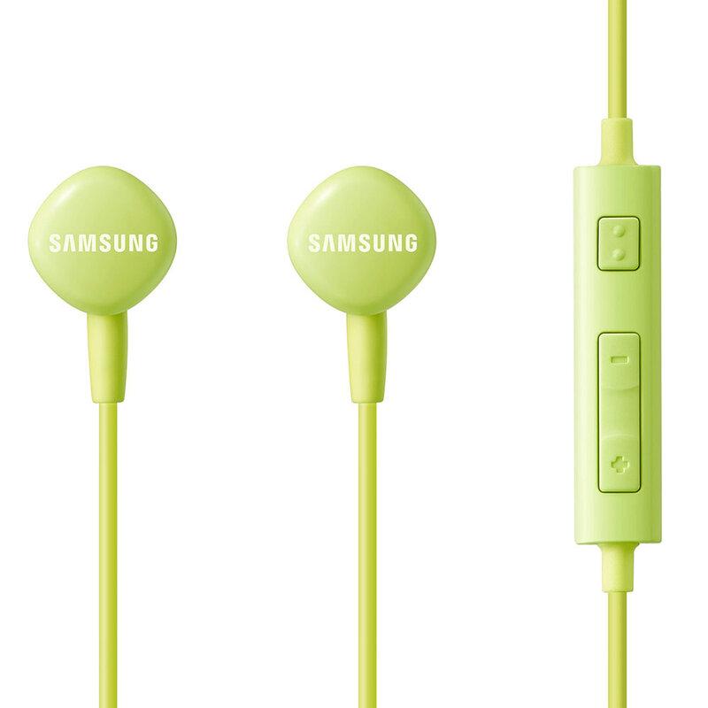 Casti In-Ear Originale Samsung HS130 Handsfree Cu Microfon With Jack 3.5mm - EO-HS1303GEGWW - Green