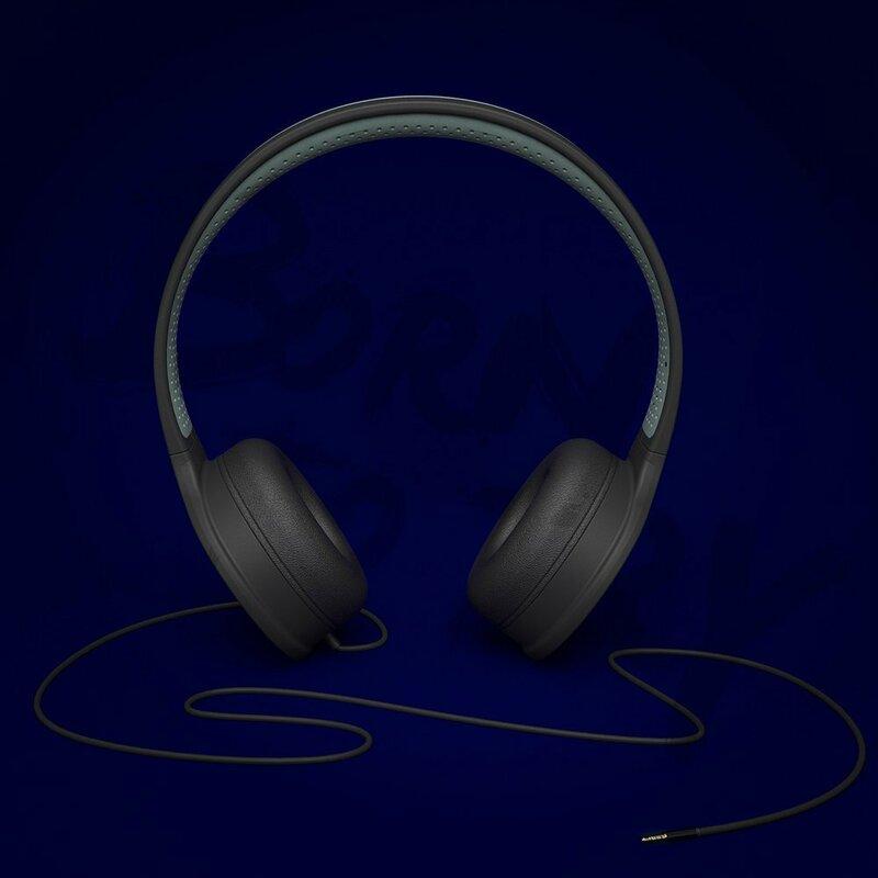 Casti On-Ear WK Design M3 Handsfree Cu Microfon Pe Fir High Quality Hi-Fi Mini Jack 3,5mm - Black