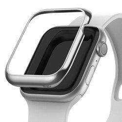 Bumper Apple Watch 4 40mm Ringke Bezel Styling - Glossy Silver