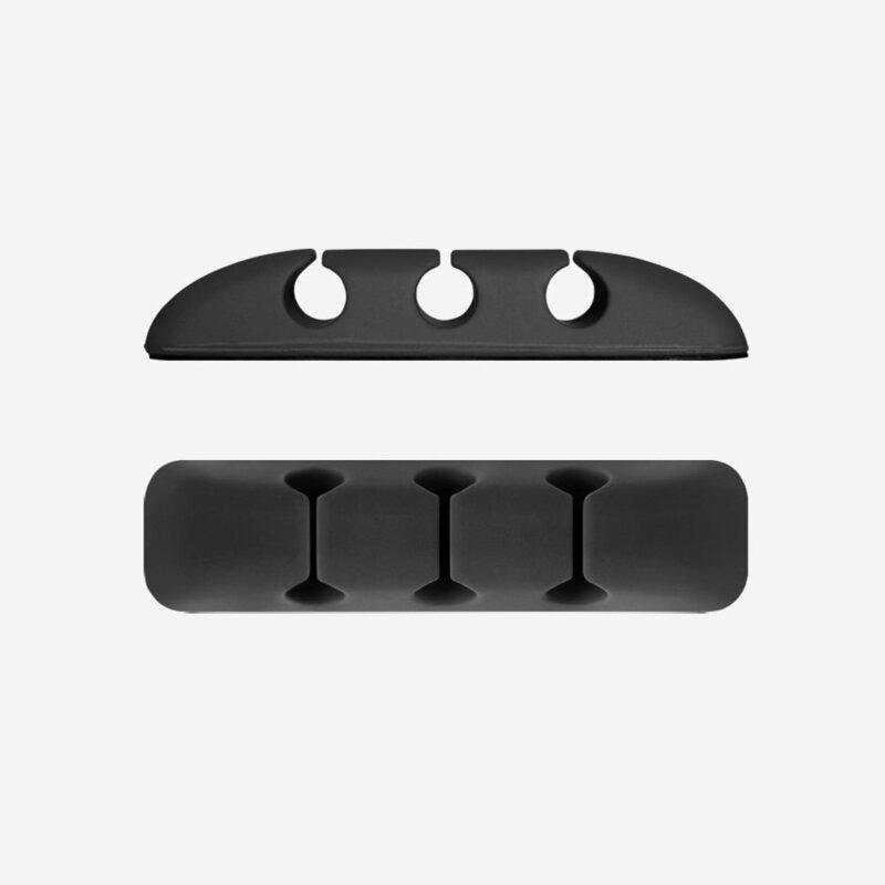 [Pachet 8x] Organizator cabluri Ringke Self-adhesive Clip Holder Pentru Birou Din Silicon - ACOR0003 - Multicolour
