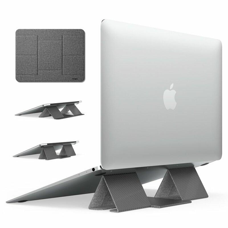 Suport Stand Pliabil Ringke Folding Stand 2 Foldable Portable Pentru Laptop, Tableta, Telefon - Gri