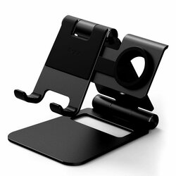 Suport Birou Ringke Super Folding Mobile Stand Foldable Pentru Telefon/Tableta/Apple Watch - Black