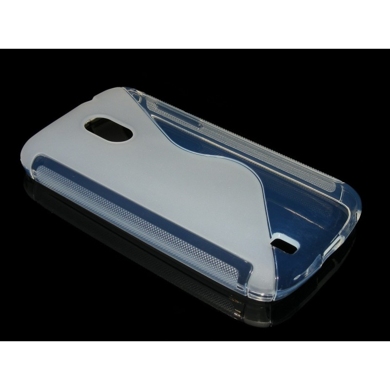 Husa ZTE Blade 3 Silicon Gel TPU Alb Transparent
