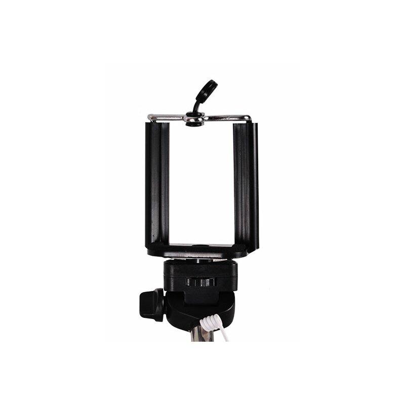 Suport Selfie Stick Wireless With Bluetooth Remote Control - Type 2 - Negru
